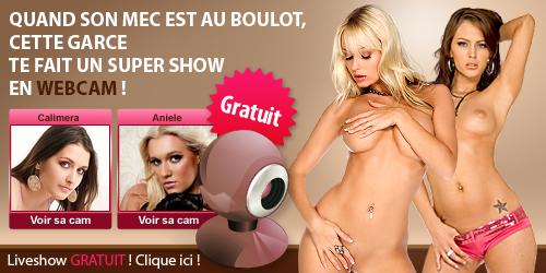 Des centaines de liveshow sexy en webcam sur Chocam !